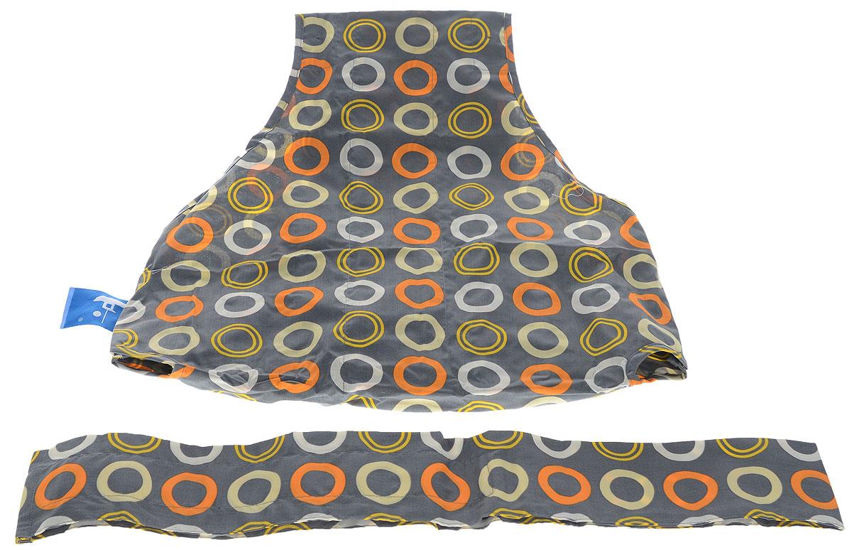 Totseat Дорожный детский стульчик Изюминка цвет серый