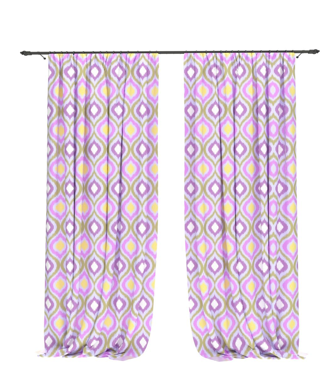 Комплект фотоштор Bellino Home Айдем, высота 260 см. 05618-ФШ-ГБ-001PANTERA SPX-2RSКомплект фотоштор BELLINO HOME, коллекция Бохо. Интерьер в стиле бохо - это калейдоскоп цветов, фактур, эмоций и свобода самовыражения. основная задача этого стиля - создание уютногоуютного пространства. Коллекция пропитана ритмическими рисунками теплого джаза с гармоническими структурами и неформальной культурой 60х-70х годов. Это согздание интерьера на основе собственных эмоций и пристрастий. Стиль бохо подразумевает некую внутреннюю свободу в человеке, благодаря которой , установленные современниками каноны и принципы становятся не важны. Именно поэтому здесь место самому интересному декору, электичным сочетаниям и неожиданным ходам. Крепление на карниз при помощи шторной ленты на крючки.В комплекте: Портьера: 2 шт. Размер (ШхВ): 145 см х 260 см. Рекомендации по уходу: стирка при 30 градусах гладить при температуре до 150 градусов Изображение на мониторе может немного отличаться от реального.