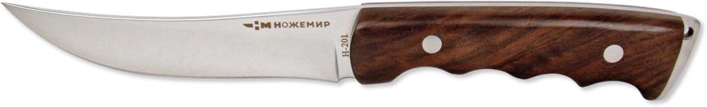 Нож нескладной Ножемир, нержавеющая сталь, с ножнами, общая длина 26 см. H-201 ножемир н 222 нескладной