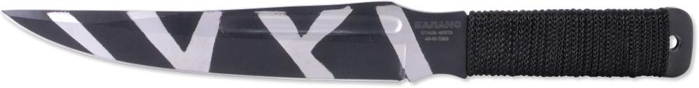 Нож метательный Ножемир Баланс, нержавеющая сталь, с ножнами, общая длина 24,5 см. M-115-212159Нож Ножемир Баланс выполнен из цельного куска нержавеющей стали. Такая конструкция обеспечивает ножу высокую прочность и максимальную надежность при метании на большие расстояния. Рукоятка обтянута текстильной веревкой для более удобного хвата. В нижней части рукоятки имеется отверстие для подвешивания.В комплекте с ножом поставляется удобный нейлоновый чехол для ношения на поясе.Общая длина: 24,5 см.