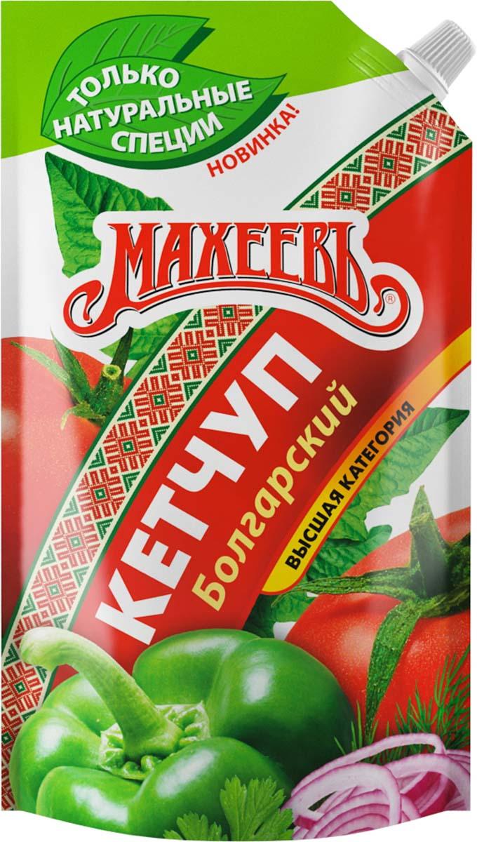 Махеевъ кетчуп болгарский, 500 г0120710Болгарский обладает густой консистенцией и изысканным вкусом, подходит к любым блюдам.