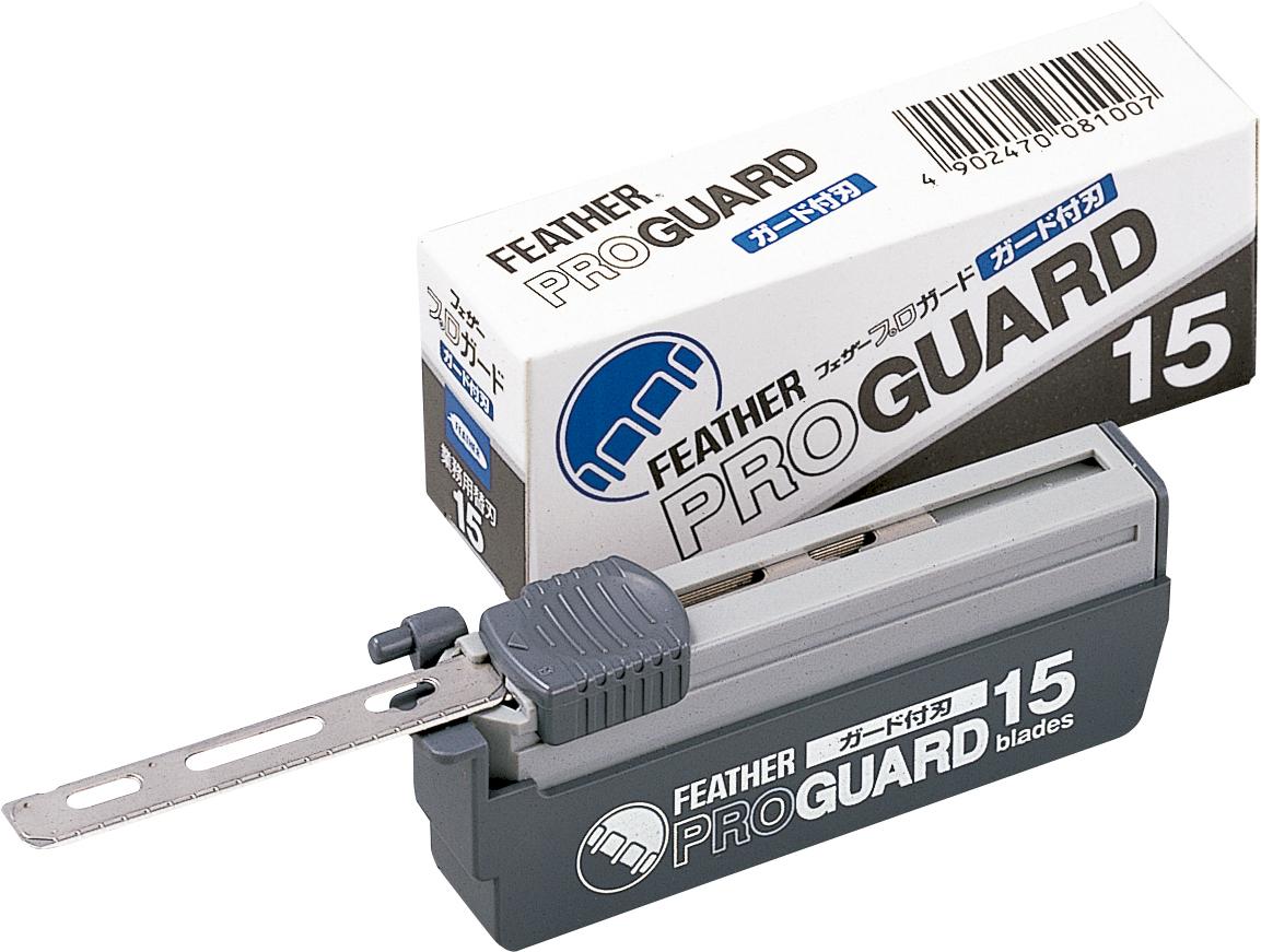 Feather Лезвия для опасной бритвы PG-15 с ограничителями для мягкого бритья45176531Безопасные лезвия с ограничителем для профессиональных опасных бритв. В пластиковом контейнере 15 лезвий.