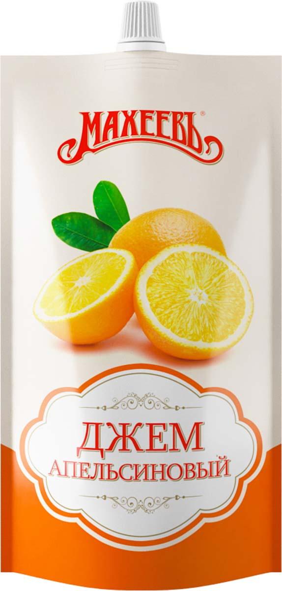 Махеевъ джем апельсиновый, 300 г0120710Ароматный джем с насыщенным вкусом апельсина придется по вкусу не только взрослым, но и детям.