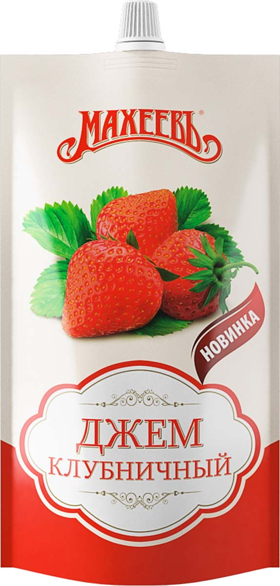 Махеевъ джем клубничный, 300 г0120710Ароматный джем с насыщенным вкусом клубники придется по вкусу не только взрослым, но и детям.