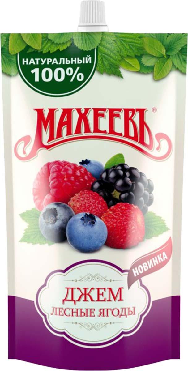 Махеевъ джем лесные ягоды, 300 г0120710Ароматный джем с насыщенным вкусом лесных ягод придется по вкусу не только взрослым, но и детям.