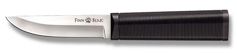 Нож Cold Steel Finn Bear, длина клинка 10,2 см20PCZЛегкий нож от компании Cold Steel Finn Bear имеет прямую рукоятку с немного ребристой структурой для протяжки. Она сделана из жесткого полипропилена, что делает её стойкой к деформации, гниению, расколам. Для безопасности и удобства нож выполнен в стиле Cor-Ex с петлёй для прикрепления к поясу, поэтому его можно носить на талии, повесить на ремешок на шею, положить в вещевой мешок или коробку с рыболовными снастями. Нож изготовлен из качественной стали German 4116 Stainless. Общая длина ножа: 10,2 см.