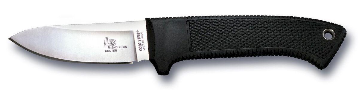 Нож Cold Steel Pendleton Hunter, общая длина 21 смCS-36LPSSОригинальный нож модели Cold Steel, выполненный с фиксированным клинком, разработан всемирно известным производителем Cold Steel. Нож оснащен стойкой эргономичной рукояткой из прочного кратона. Клинок с гладкой заточкой изготовлен из высококачественной нержавеющей стали.Размер ножа в открытом виде: 21 см.Толщина лезвия: 4,8 мм.