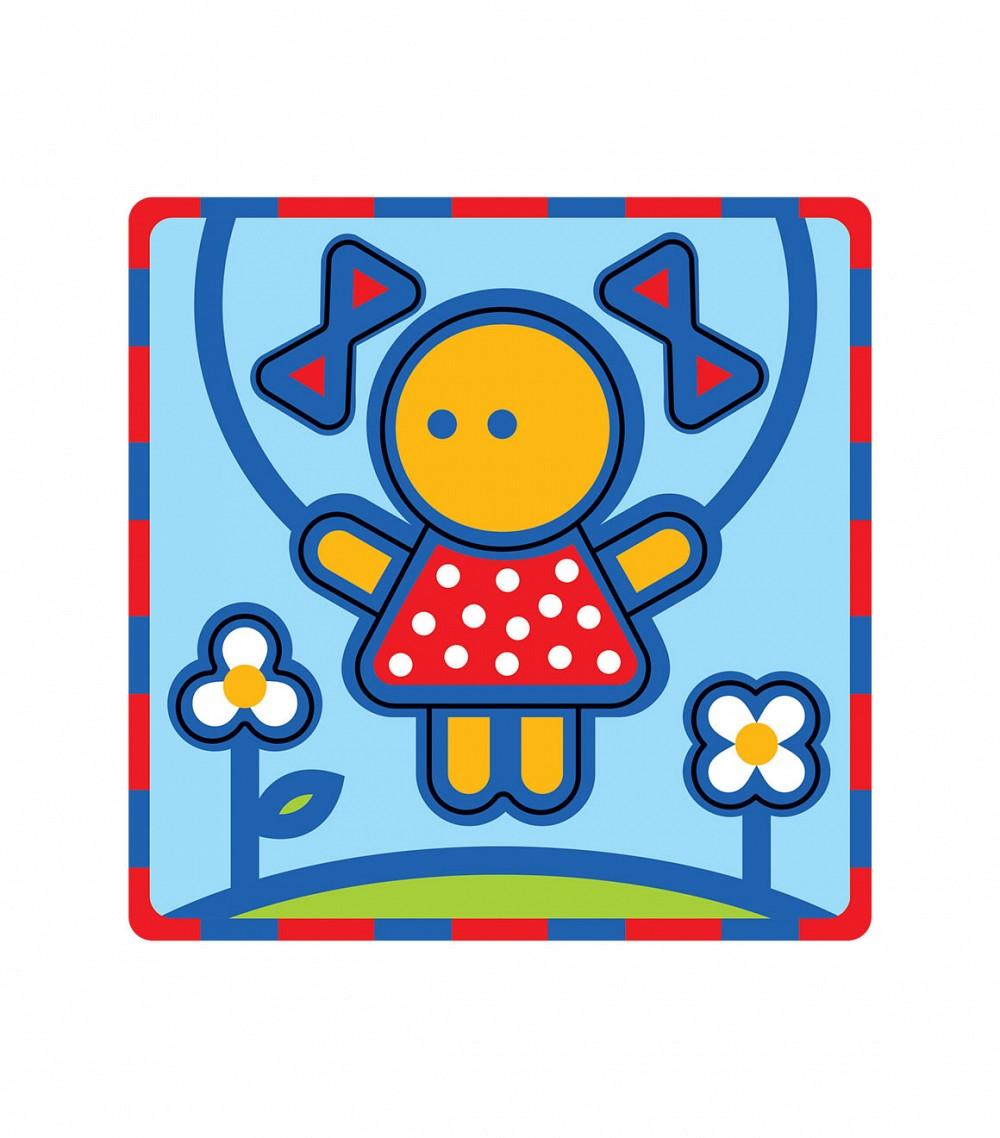 Умная бумага Пазл для малышей Девочка Умная бумага
