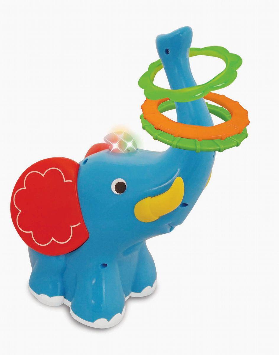 Kiddieland Развивающая игрушка Слон-кольцеброс