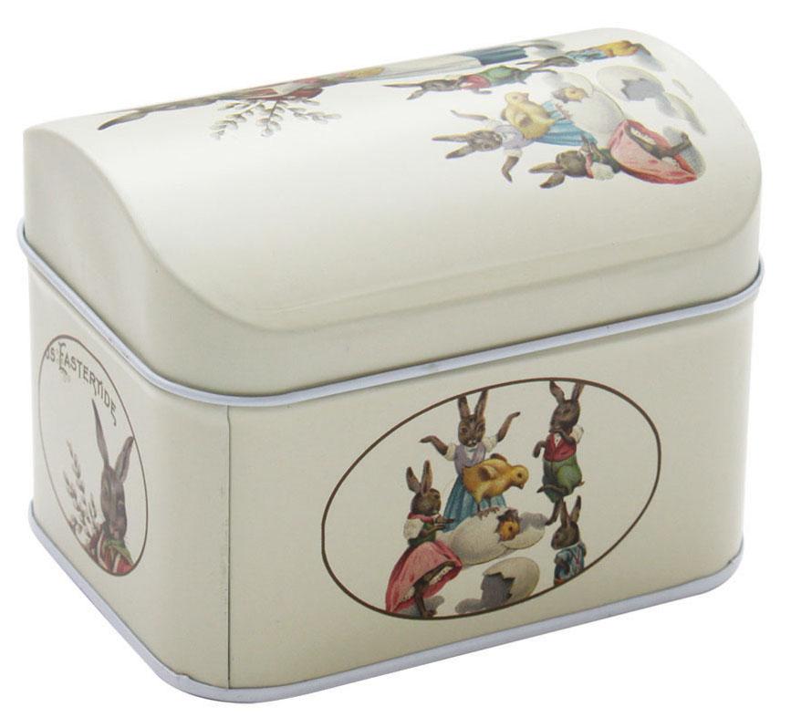 Коробка для хранения мелочей Hobby & Pro, 10 х 8 х 7,8 см1004900000360Коробка для хранения мелочей Hobby & Pro, выполненная из металла, станет практичным решением для хранения швейных принадлежностей. Внешняя поверхность оформлена красивым рисунком. Внутри - одно отделение. Такая оригинальная коробка подойдет для хранения разных предметов рукоделия: ниток, иголок, бусин, кнопок и многого другого.Размер коробки: 10 х 8 х 7,8 см.