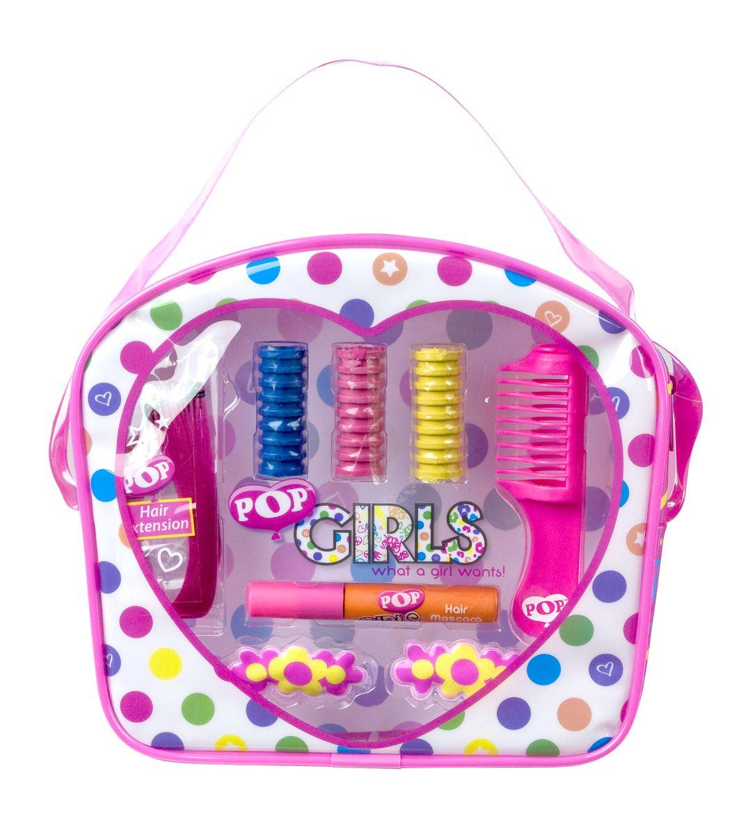 Markwins Игровой набор детской декоративной косметики для волос Pop GirlKGSPK001Набор детской косметики для окрашивания волос Markwins Pop Girl поможет создать яркий образ! При этом краска легко смывается обычной водой, не содержит вредных веществ, не портит волосы. В набор входит флакончик с краской для волос и специальные мелки, которыми можно легко покрасить отдельные пряди. Искусственная прядь придаст дополнительную изюминку. Детская краска для волос прекрасно подойдет для создания образа перед маскарадом, праздником или выступлением.Детская косметика Markwins создана с соблюдением самых высоких европейских стандартов безопасности. Продукция не содержит парабенов, метилизотиазолинона, пальмового масла. Предназначена для детей от 7 лет. Несмотря на высокое качество продукции и ее общую гипоаллергенность, производитель рекомендует проверить индивидуальную реакцию на косметику перед ее использованием. Просто нанесите на кожу немного косметики и подержите 30-60 минут. Если на коже появится покраснение, следует прекратить использование продукции. Эта аллергическая реакция проявляется очень редко и зависит от индивидуальных особенностей организма.Условия хранения: хранить при температуре от +5 до +25 градусов; не допускать попадания прямых солнечных лучей.