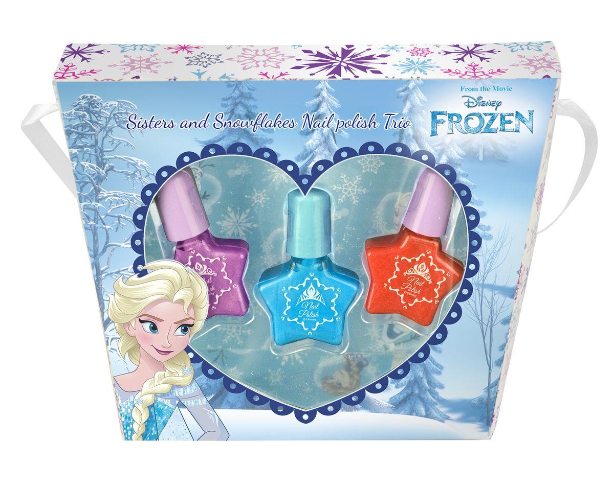 Markwins Игровой набор детской декоративной косметики Frozen ЭльзаSC-FM20104Состав набора: лаки на водной основе для ногтей 3 шт.
