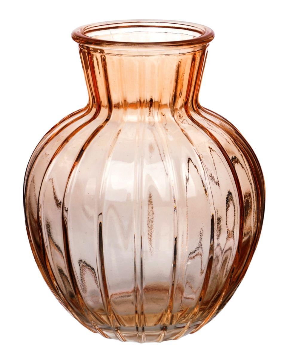 Ваза Nina Glass Белла, цвет: оранжевый, высота 19,5 см54 009312Ваза Nina Glass Белла выполнена из высококачественногостекла и имеет изысканный внешний вид. Такая ваза станет ярким украшением интерьера и прекрасным подарком к любому случаю. Не рекомендуется мыть в посудомоечной машине.Высота вазы: 19,5 см.
