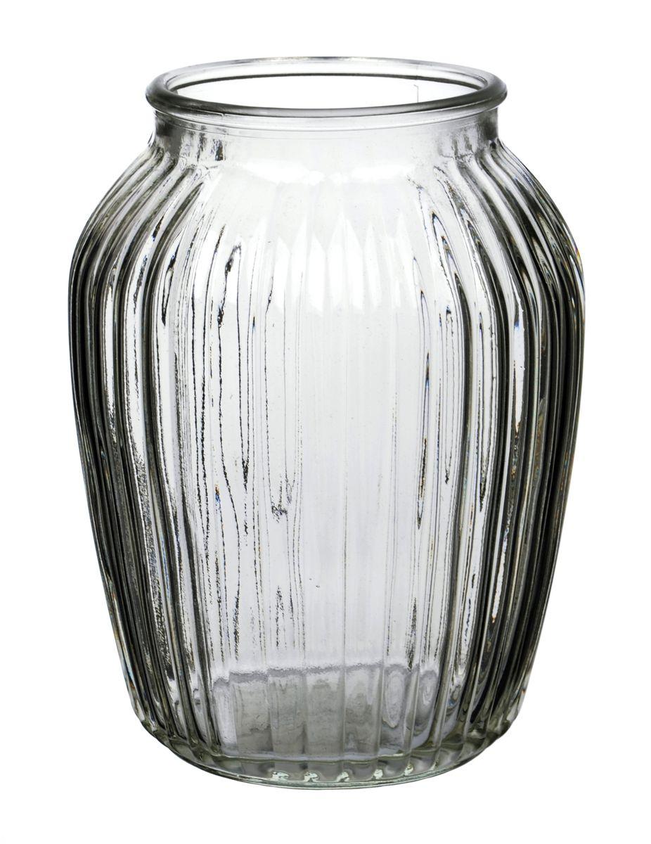 Ваза Nina Glass Луана, цвет: дымчатый, высота 19,5 смFS-80423Ваза Nina Glass Луана выполнена из высококачественногостекла и имеет изысканный внешний вид. Такая ваза станет ярким украшением интерьера и прекрасным подарком к любому случаю. Не рекомендуется мыть в посудомоечной машине.Высота вазы: 19,5 см.