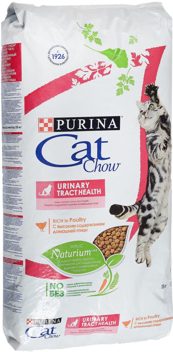 Корм сухой для кошек Cat Chow Special Care, для профилактики мочекаменной болезни, 15 кг0120710Корм сухой Cat Chow Special Care - полнорационный корм для взрослых кошек, для здоровья мочевыводящих путей. Сама природа вдохновляет компанию PURINA на разработку кормов, которые максимально отвечают потребностям ваших питомцев, с учетом их природных инстинктов. Имея более чем 80-ти летний опыт в области питания животных, PURINA создала новый корм Cat Chow - полностью сбалансированный корм, который не только доставит удовольствие вашей кошке, но и будет полезным для ее здоровья. Особенности корма Cat Chow Special Care:Высокое содержание мяса, с источниками высококачественного белка в каждой порции для поддержания оптимальной массы тела. Особое сочетание натуральных ингредиентов: тщательно отобранные травы и овощи (петрушка, шпинат, морковь, горох). Отборные ингредиенты придают особый аромат. Высокое содержание витамина Е для поддержания естественной защиты организма питомца. Содержит мякоть свеклы и цикорий для поддержания здорового пищеварения и уменьшения запаха от туалетного лотка. Помогает поддерживать здоровье мочевыводящих путей благодаря необходимым минеральным веществам и поддержанию оптимального уровня pH мочи. Состав: злаки, мясо и субпродукты (мясо 14%), экстракт растительного белка, масла и жиры, продукты переработки овощей (сухая мякоть свеклы 2,7%, петрушка 0,4%), овощи (сухой корень цикория 2%, морковь 1,3%, шпинат 1,3%, зеленый горох 1,3%), минеральные вещества, дрожжи.Добавленные вещества (на 1 кг): витамин А 16900 МЕ; витамин D3 1400 МЕ; витамин Е 120 МЕ; железо 60 мг; йод 2,1 мг; медь 12 мг; марганец 6 мг; цинк 90 мг; селен 0,14 мг. С антиокислителями. Гарантируемые показатели: белок 34%, жир 12%, сырая зола 7%, сырая клетчатка 2%.Товар сертифицирован.