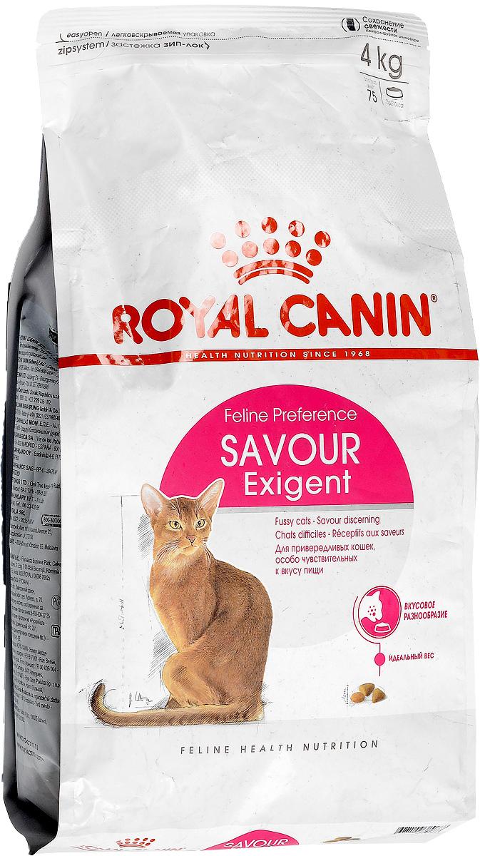 Корм сухой Royal Canin Exigent 35/30 Savoir Sensation, для кошек, привередливых к вкусу продукта, 4 кг0120710Сухой корм Royal Canin Exigent 35/30 Savoir Sensation является полнорационнымсбалансированным кормом для очень привередливых к вкусу продукта взрослыхкошек ввозрасте старше 1 года. Наличие индивидуальных пищевых предпочтенийозначает, чтокаждая кошка по-своему интерпретирует аромат, текстуру, вкус корма иощущения послеегопотребления. Корм, помимо вкусовых качеств, обладает также рядом другихоригинальных,специфических свойств. Особенности корма Royal Canin Exigent. Savor Sensation:- корм содержит два типа крокетов, различных по форме, текстуре и составу,обладающихвзаимодополняющими свойствами;- особая рецептура корма обладает умеренной калорийностью, что помогаетподдерживатьидеальный вес кошки;- комплекс входящих в состав корма активных питательных веществ,включающий биотинимасло огуречника аптечного, способствует красоте шерсти кошки.Royal Canin - лидер на рынке производства рационов для собак икошек,благодаря каждодневной исследовательской работе в области питания длядомашнихживотных.Состав: кукуруза, дегидратированное мясо птицы, рис, изолятрастительныхбелков, животные жиры, кукурузная клейковина, гидролизат белков животногопроисхождения, растительная клетчатка, минеральные вещества, свекольныйжом,дрожжи, соевое масло, фосфат натрия, яичный порошок, фруктоолигосахариды,экстрактпаприки, масло огуречника аптечного.Добавки (на 1 кг): Питательные добавки: Витамин A: 15700 ME, Витамин D3: 800 ME, Железо: 38 мг, Йод: 2,9 мг, Марганец: 49 мг, Цинк: 162 мг, Ceлeн: 0,1 мг - Консервант: сорбат калия - Антиокислители: пропилгаллат, БГА.Товар сертифицирован.