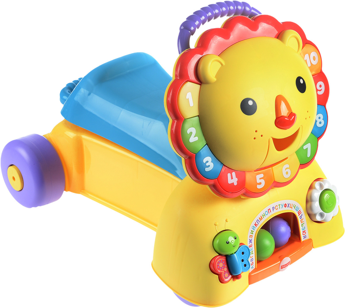 Fisher-Price Ходунки Львенок 3 в 1 -  Ходунки