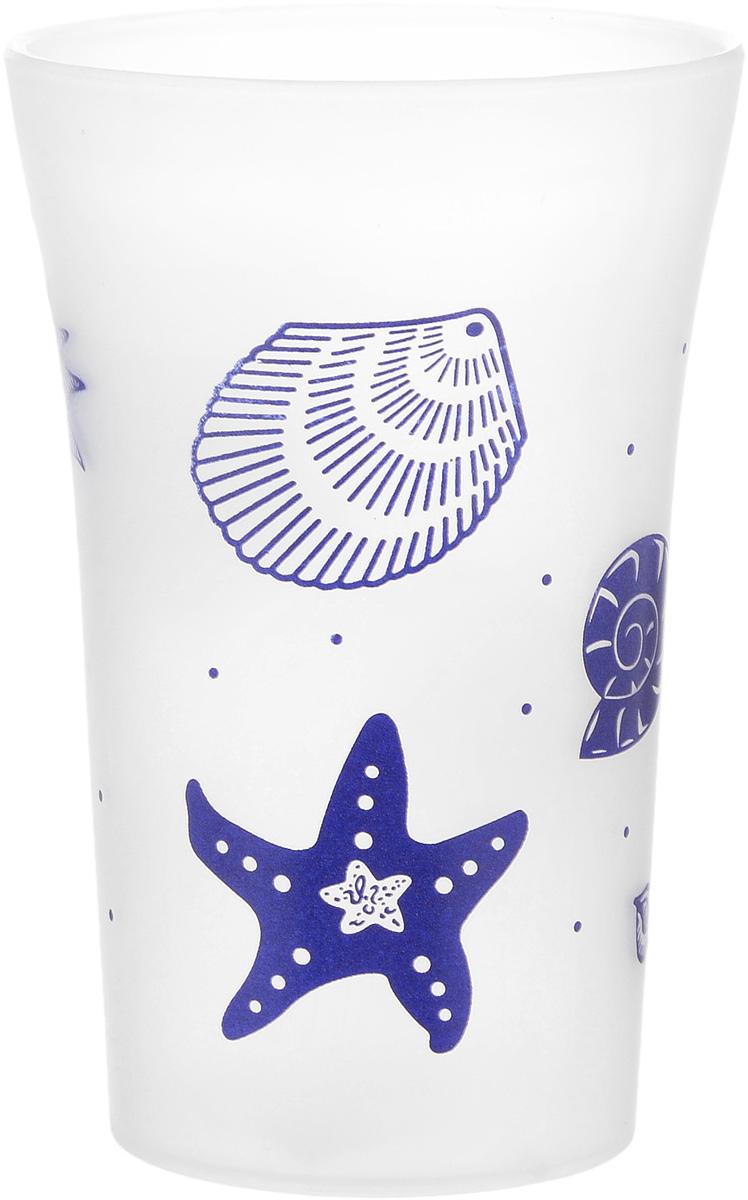 Стакан для ванной комнаты Vanstore Summer White, цвет: белый, синий, высота 11,5 см22020113Стакан для ванной комнаты Vanstore Summer White изготовлен из высококачественного пластика. В стакане удобно хранить зубные щетки, тюбики с зубной пастой и другие принадлежности. Такой аксессуар для ванной комнаты стильно украсит интерьер и добавит в обычную обстановку яркие и модные акценты.Размер стакана: 7,3 х 7,3 х 11,5 см.
