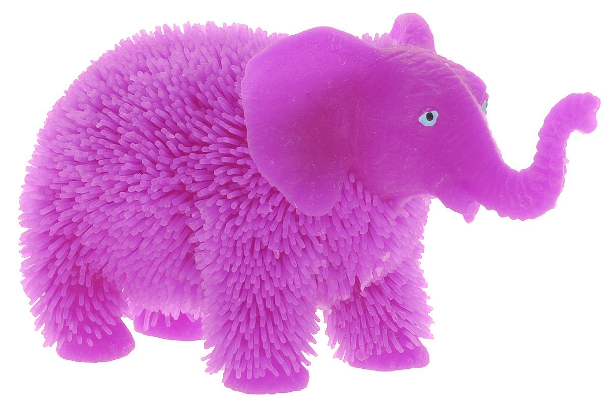 HGL Фигурка Слон с подсветкой цвет фиолетовый hgl фигурка черепаха с подсветкой цвет ярко оранжевый
