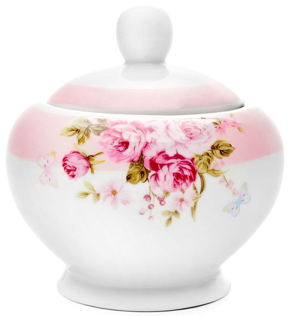 Сахарница Walmer Mirabella, цвет: розовый, 300 мл115510Великолепная сахарница Walmer Mirabella выполнена из высококачественного фарфора и оснащена крышкой. Лаконичность и изящество форм придают сахарнице неповторимую изысканность. Эксклюзивный дизайн, эстетичность и функциональность сахарницы делает ее незаменимой на любой кухне.Высота сахарницы (без учета крышки): 10,5 см.Объем сахарницы: 300 мл.