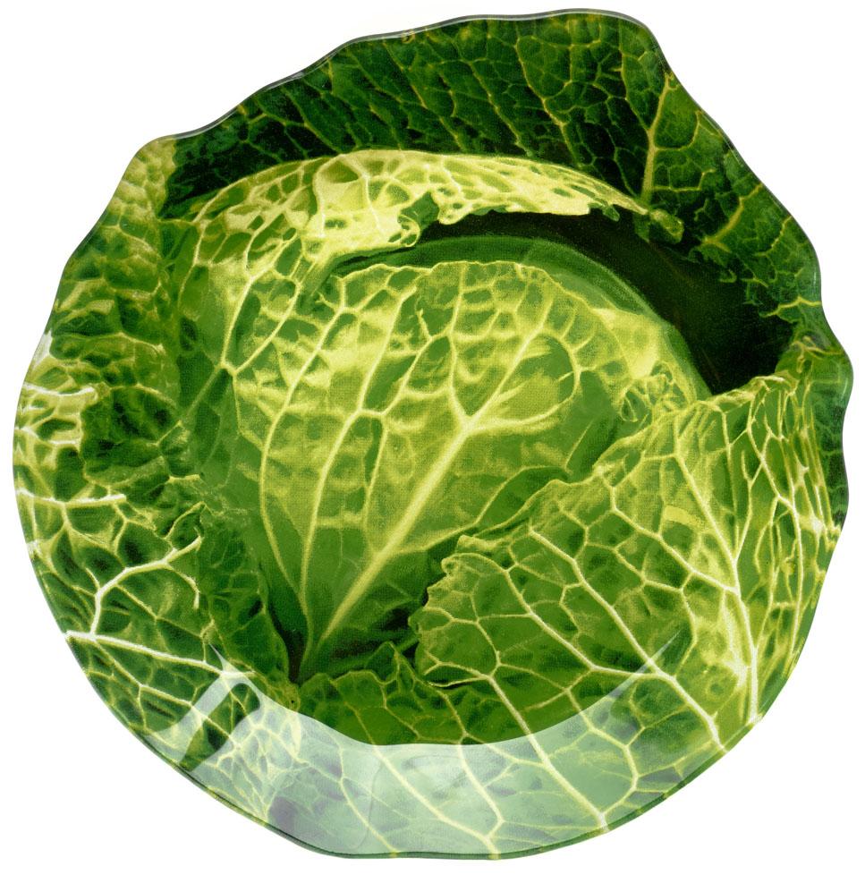 Блюдо Walmer Cabbage, 20 x 21 смW22042021Сервировочное блюдо Walmer Cabbage изготовлено из высококачественного стекла в виде капусты. Краска впечатана в стекло с обратной стороны блюда, что исключает ее контакт с пищей.Блюдо - необходимая вещь при застолье. Вы можете использовать его для закусок, сырной нарезки, колбасных изделий и, конечно, горячих блюд. Изумительное сервировочное блюдо станет изысканным украшением вашего праздничного стола.