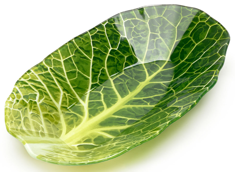 Салатник Walmer Leaf Lettuce. W22071827115510Салатник Walmer Leaf Lettuce в виде листа салата изготовлен из тонкого, но прочного стекла.Благодаря инновационной технологии впечатывания в стекло, краски не теряют яркость при частом мытье.Салатник легко мыть и удобно хранить.Размер салатника: 18 x 27 см.