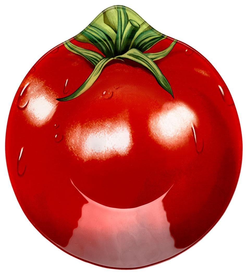 Салатник Walmer Tomato. W22082022W22082022Салатник Walmer Tomato в виде красного томата изготовлен из тонкого, но прочного стекла.Благодаря инновационной технологии впечатывания в стекло, краски не теряют яркость при частом мытье. Краска впечатана в стекло с обратной стороны блюда, что исключает ее контакт с пищей.Салатник легко мыть и удобно хранить.Длина салатника: 20 см.Ширина салатника: 22 см.Высота салатника: 3,7 см.