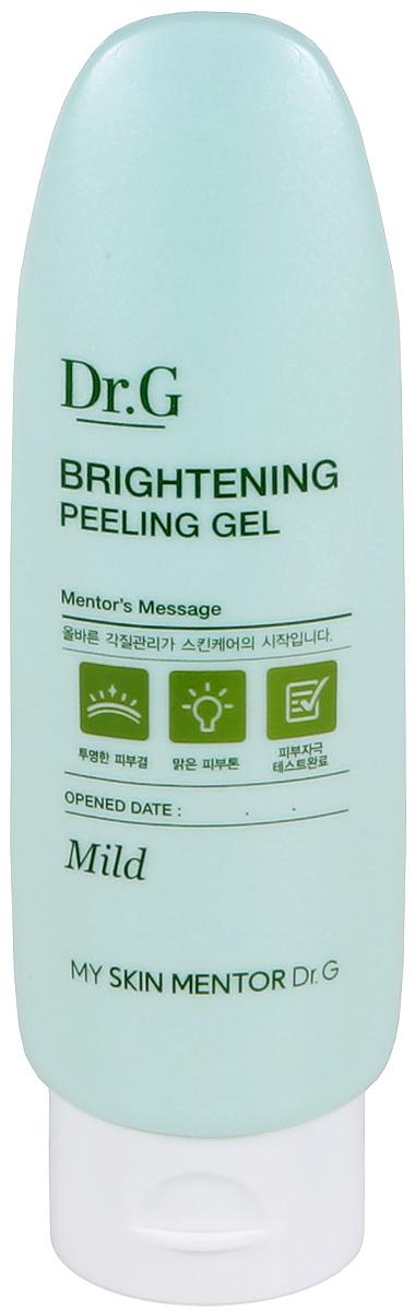 Dr. G Пилинг-гель отшелушивающий для яркости кожи Peeling, 120 млFS-00103Отшелушивающий осветляющий гель предназначен для деликатного пилинга и относится к мягкому варианту очищения лица. Средство увлажняет, повышает тургор кожи. Пилинг-гель действует очень бережно и не раздражающе. Освежает тон, делая его ярким, осветленным и сияющим. Кожа разглаживается и омолаживается. Цвет лица становится более здоровым, внешний вид преображается. Входящие в состав продукта ферментированный экстракт бусенника, фито-олиго комплекс, экстракты листьев хурмы, мальвы и облепихи дают действенный результат. Экстракт бусенника отбеливает веснушки и насыщает луковицы. Фито-олиго комплекс наполняет кожу влагой и расслабляет до состояния безмятежности. Экстракт листьев хурмы препятствует старению клеток. Экстракт мальвы питает эпидермис витаминами A, C и Е. Облепиха возвращает лицу молодость и красоту, способствует повышению тонуса, убирает неглубокие морщины.