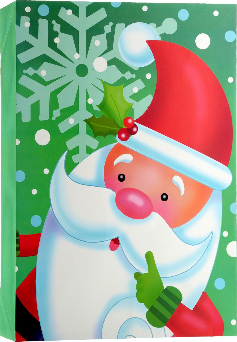 Коробка подарочная Winter Wings Дед мороз, 30 х 6,8 х 43 смNLED-454-9W-BKПодарочная коробка Winter Wings Дед мороз выполнена из картона. Крышка оформлена изображением Деда Мороза.Подарочная коробка - это наилучшее решение, если вы хотите порадовать ваших близких и создать праздничное настроение, ведь подарок, преподнесенный в оригинальной упаковке, всегда будет самым эффектным и запоминающимся. Окружите близких людей вниманием и заботой, вручив презент в нарядном, праздничном оформлении.Размеры: 30 х 6,8 х 43 см.