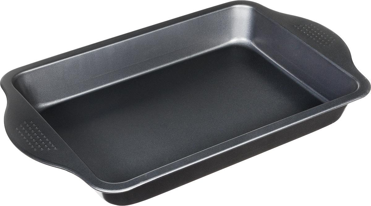 Форма для выпечки Travola, 42 х 25,5 смSL-24S008Форма Travola изготовлена из высококачественной углеродистой стали, что обеспечивает равномерное распределение тепла и прекрасно пропеченную выпечку. Готовую выпечку легко доставать из формы. Форма Travola идеально подходит для выпекания кексов, хлеба, рулетов и многого другого. Можно мыть в посудомоечной машине.Размер формы: 42 х 25,5 х 5 см. * Победитель номинации «Лучшая собственная торговая марка в сегменте ONLINE»Премия PRIVATE LABEL AWARDS (by IPLS) —международная премия в области собственных торговых марок, созданная компанией Reed Exhibitions в рамках выставки «Собственная Торговая Марка» (IPLS) 2016 с целью поощрения розничных сетей, а также производителей продовольственных и непродовольственных товаров за их вклад в развитие качественных товаров private label, которые способствуют росту уровня покупательского доверия в России и СНГ.