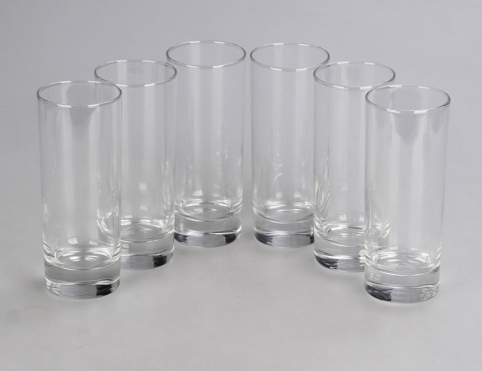 Набор стаканов Luminarc Исланд, 330 мл, 6 штVT-1520(SR)Набор Luminarc Исланд состоит из 6 высоких стаканов, выполненных из высококачественного стекла. Изделия подходят для сока, воды, лимонада и других напитков. Такой набор станет прекрасным дополнением сервировки стола, подойдет для ежедневного использования и для торжественных случаев. Можно мыть в посудомоечной машине.Объем стакана: 330 мл.Высота стакана: 15,5 см.Диаметр стакана: 6 см.