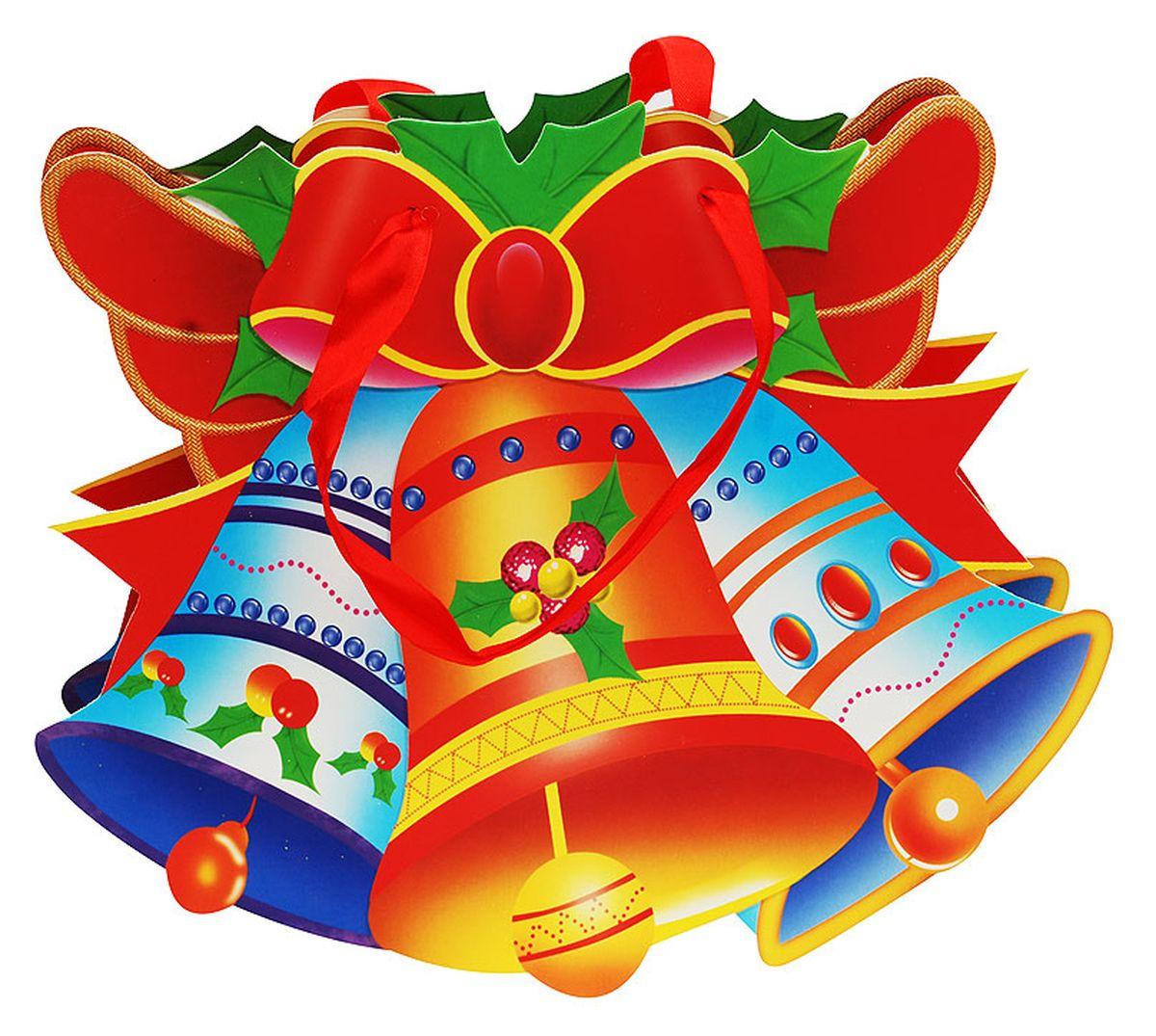 Пакет подарочный Белоснежка Волшебные колокольчики, 25 х 26 х 8 см7716370_золотойПодарочный пакет Волшебные колокольчики выполнен из качественной плотной бумаги с хорошей печатью, объемные элементы на пакете придают дополнительный яркий акцент.