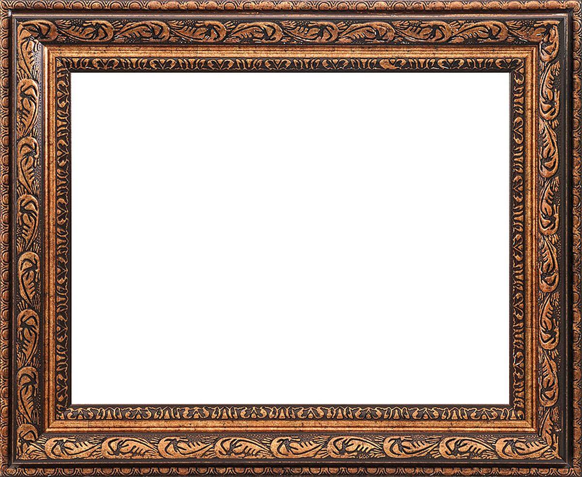 Рама багетная Белоснежка Lydia, цвет: коричневый, золотой, 30 х 40 см300169Багетная рама Белоснежка Lydia изготовлена из пластика, окрашенного в золотой цвет. Багетные рамы предназначены для оформления картин, вышивок и фотографий.Если вы используете раму для оформления живописи на холсте, следует учесть, что толщина подрамника больше толщины рамы и сзади будет выступать, рекомендуется дополнительно зафиксировать картину клеем, лист-заглушку в этом случае не вставляют. В комплект входят рама, два крепления на раму, дополнительный держатель для холста, подложка из оргалита, инструкция по использованию.