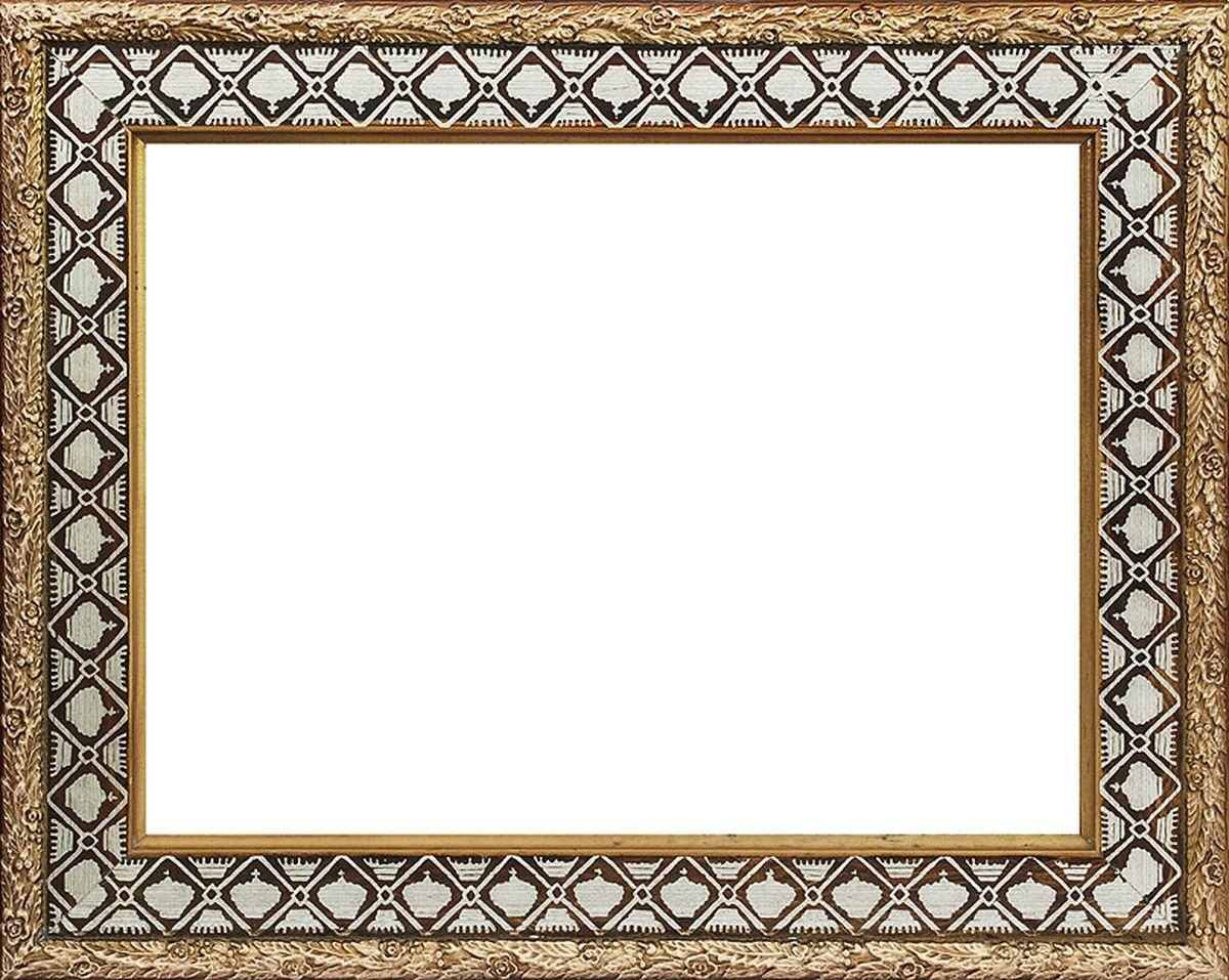 Рама багетная Белоснежка Paula, цвет: белый, коричневый, 40 х 50 см300132Багетная рама Белоснежка Paula изготовлена из МДФ, окрашенного в белый и коричневый цвета. Багетные рамы предназначены для оформления картин, вышивок и фотографий.Если вы используете раму для оформления живописи на холсте, следует учесть, что толщина подрамника больше толщины рамы и сзади будет выступать, рекомендуется дополнительно зафиксировать картину клеем, лист-заглушку в этом случае не вставляют. В комплект входят рама, два крепления на раму, дополнительный держатель для холста, подложка из оргалита, инструкция по использованию.
