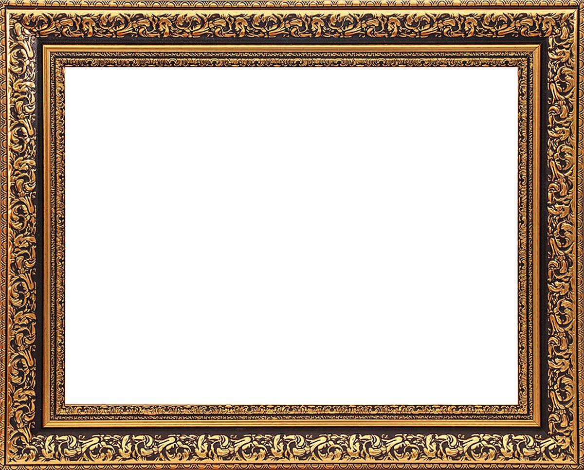 Рама багетная Белоснежка Melissa, цвет: коричневый, золотой, 40 х 50 см300144Багетная рама Белоснежка Melissa изготовлена из пластика, окрашенного в золотой цвет. Багетные рамы предназначены для оформления картин, вышивок и фотографий.Если вы используете раму для оформления живописи на холсте, следует учесть, что толщина подрамника больше толщины рамы и сзади будет выступать, рекомендуется дополнительно зафиксировать картину клеем, лист-заглушку в этом случае не вставляют. В комплект входят рама, два крепления на раму, дополнительный держатель для холста, подложка из оргалита, инструкция по использованию.