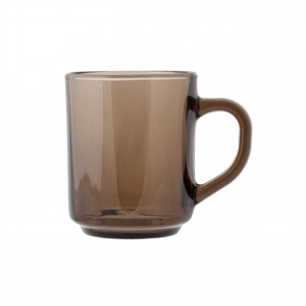 Кружка Luminarc Марли Эклипс, 250 мл391602Кружка Luminarc Марли Эклипс изготовлена из упрочненного стекла. Такая кружка прекрасно подойдет для горячих и холодных напитков. Она дополнит коллекцию вашей кухонной посуды и будет служить долгие годы. Можно использовать в посудомоечной машине и микроволновой печи. Объем кружки: 250 мл.