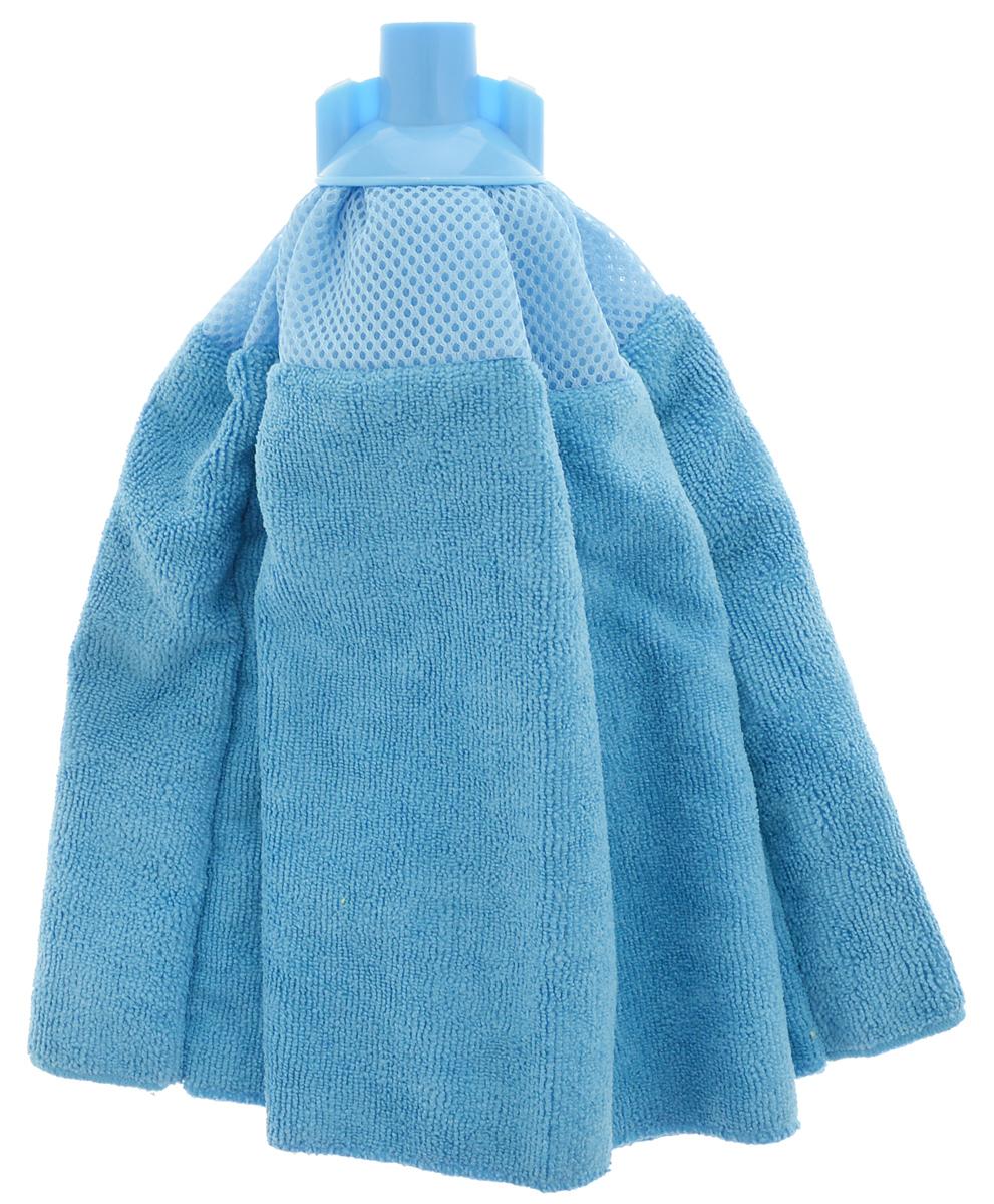 Насадка-юбка для швабры Home Queen, сменная, цвет: васильковый787502Сменная насадка для швабры Home Queen изготовлена из микрофибры и пластика. Микрофибра обладает высокой износостойкостью, не царапает поверхности и отлично впитывает влагу. Насадка отлично удаляет большинство жирных и маслянистых загрязнений без использования химических веществ. Насадка идеально подходит для мытья всех типов напольных покрытий. Она не оставляет разводов и ворсинок. Сменная насадка для швабры Home Queen станет незаменимой в хозяйстве.Длина: 31 см.Диаметр по нижнему краю: 51 см.
