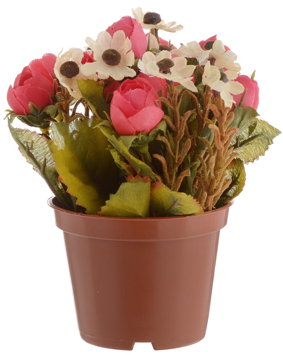 Растение искусственное для мини-сада Bloom`its, высота 13 см. 804833804833_белыйИскусственное растение Bloom`its поможет создать свой собственный мини-сад. Заниматься ландшафтным дизайном и декором теперь можно, даже если у вас нет своего загородного дома, причем не выходя из дома. Устройте себе удовольствие садовода, собирая миниатюрные фигурки и составляя из них различные композиции. Объедините миниатюрные изделия в емкости (керамический горшок, корзина, деревянный ящик или стеклянная посуда) и добавьте мини-растения. Это не только поможет увлекательно провести время, раскрывая ваше воображение и фантазию, результат работы станет стильным и необычным украшением интерьера.