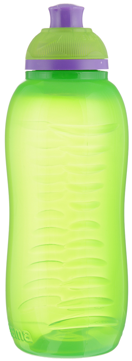 Бутылка для воды Sistema Twist n Sip, цвет: зеленый, фиолетовый, 330 млVT-1520(SR)Бутылка для воды Sistema Twist n Sip изготовлена из прочного пищевого пластика без содержания фенола и других вредных примесей. Рельефная поверхность бутылки со специальными выемками для удобного хвата. Бутылка имеет удобную запатентованную систему крышки Twist n Sip, которая предотвращает выливание жидкости и в то же время позволяет удобно пить напитки. С такой бутылкой Вы сможете где угодно насладиться Вашими любимыми напитками. Высота бутылки: 16 см.