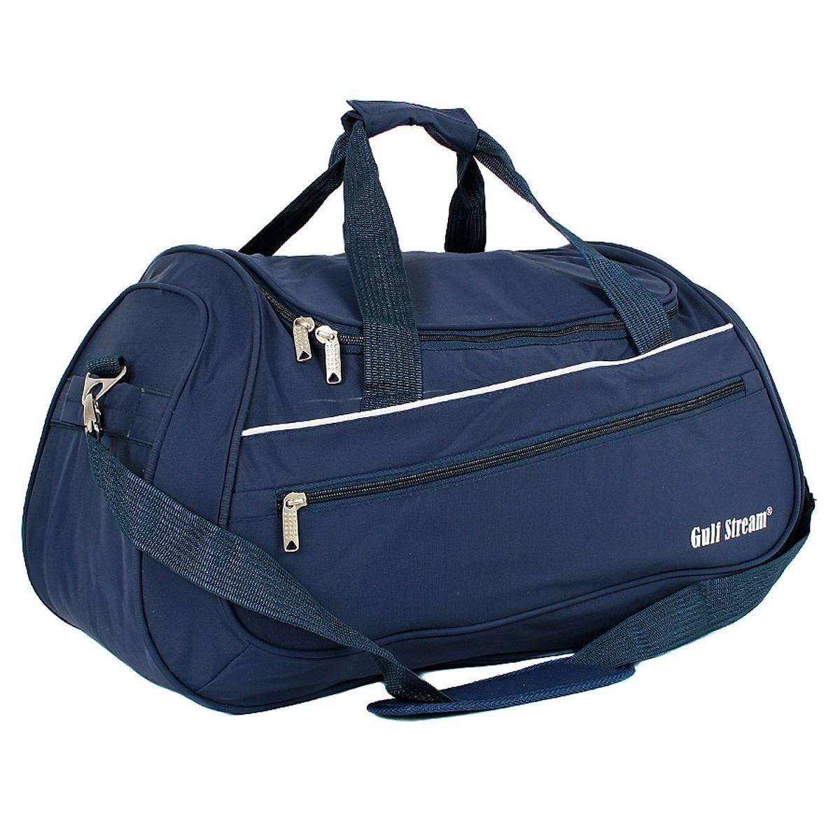 Сумка спортивная Polar, цвет: темно-синий, 46,5 л. 59866067Материал – полиэстер с водоотталкивающей пропиткой. Вместительная спортивная сумка среднего размера. Одно отделение. Карман на передней части. В комплект входит съемный плечевой ремень. Эта сумка идеально подойдет для спорта и отдыха.