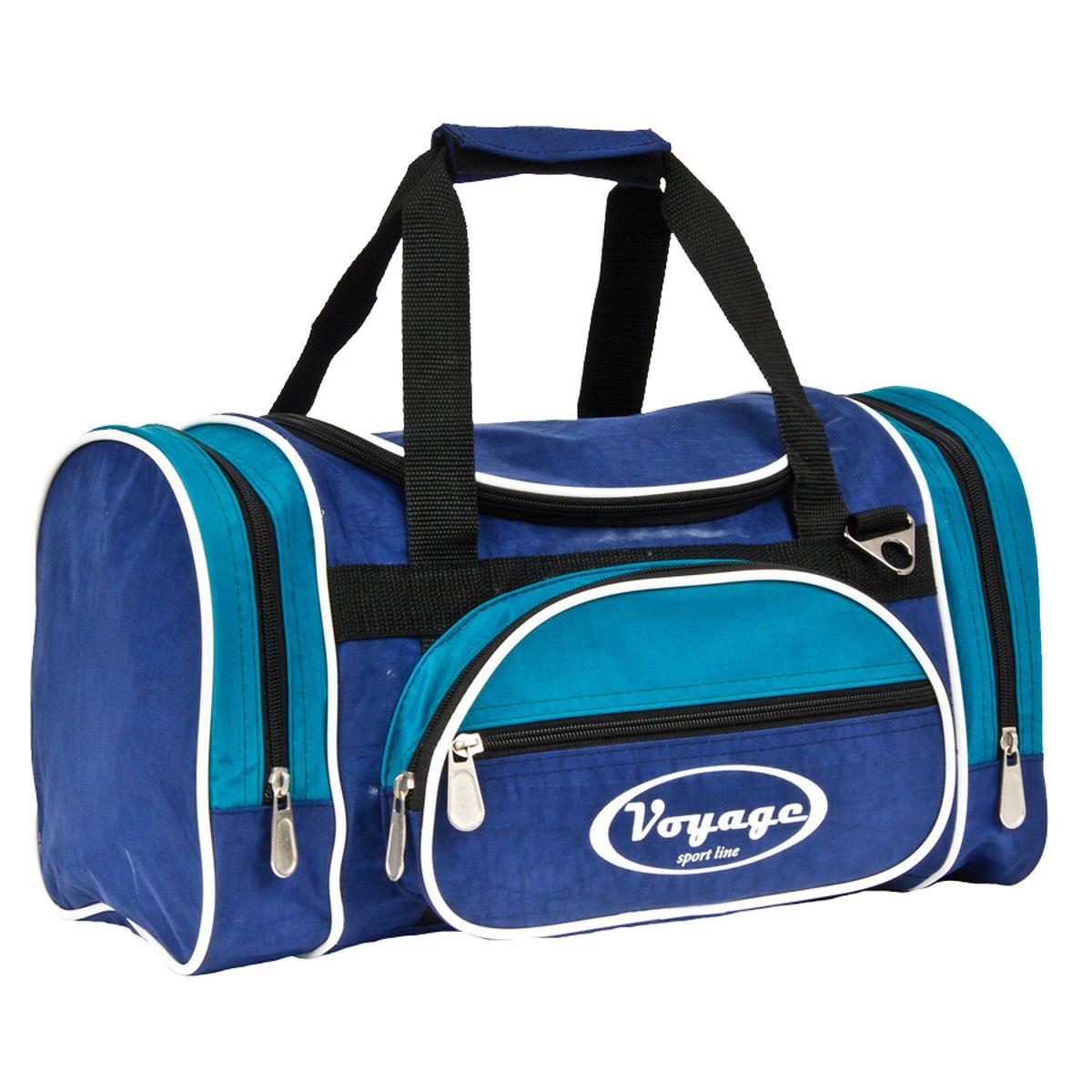 Сумка дорожная Polar, цвет: синий, голубой, 16 л. С Р209 сумка дорожная polar цвет бордовый 46 5 л 7049 2