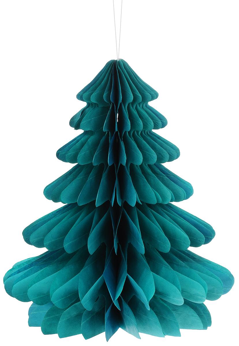 Украшение новогоднее подвесное Winter Wings Елочка, 23 х 26 смN09335Оригинальное новогоднее украшение Winter Wings Елочка выполнено из прочной бумаги. Украшение можно подвесить в любом понравившемся вам месте.Новогодние украшения приносят в дом волшебство и ощущение праздника. Создайте в своем доме атмосферу веселья и радости, украшая его всей семьей.Размер: 23 х 26 см.