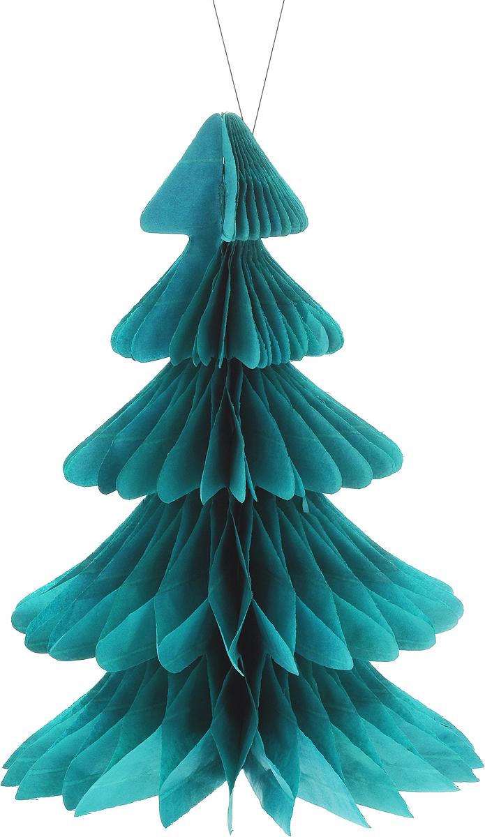 Украшение новогоднее подвесное Winter Wings Елочка, 19 х 26,5 смN09240Оригинальное новогоднее украшение Winter Wings Елочка выполнено из прочной бумаги. Украшение можно подвесить в любом понравившемся вам месте.Новогодние украшения приносят в дом волшебство и ощущение праздника. Создайте в своем доме атмосферу веселья и радости, украшая его всей семьей.Размер: 19 х 26,5 см.