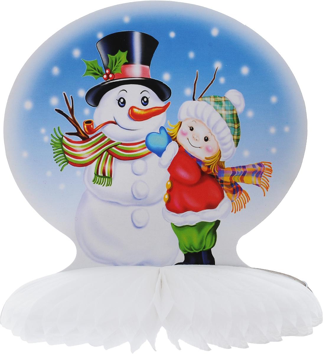 Украшение новогоднее подвесное Winter Wings Зима, 19,5 х 21 смN09343Оригинальное новогоднее украшение Winter Wings Зима выполнено из прочной бумаги. Украшение можно подвесить в любом понравившемся вам месте.Новогодние украшения приносят в дом волшебство и ощущение праздника. Создайте в своем доме атмосферу веселья и радости, украшая его всей семьей.Размер: 19,5 х 21 см.