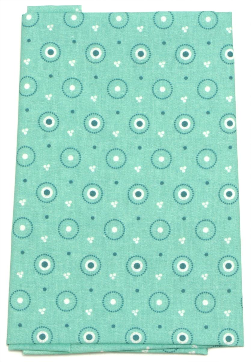Ткань Кустарь Разноцветные круги №34, 48 х 50 см. AM5920341035355Ткань Кустарь - это высококачественная ткань из 100% хлопка, которая отлично подходит для пошива покрывал, сумок, панно, одежды, кукол. Также подходит для рукоделия в стиле скрапбукинг и пэчворк.Плотность ткани:120 г/м2. Размер: 48 х 50 см.