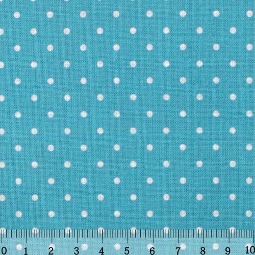 Ткань Кустарь Горошек 2 мм, цвет: бирюзовый, 48 х 50 см. AM55601409840-20.000.00Ткань Кустарь - это высококачественная ткань из 100% хлопка, которая отлично подходит для пошива покрывал, сумок, панно, одежды, кукол. Также подходит для рукоделия в стиле скрапбукинг и пэчворк.Плотность ткани:120 г/м2. Размер: 48 х 50 см.