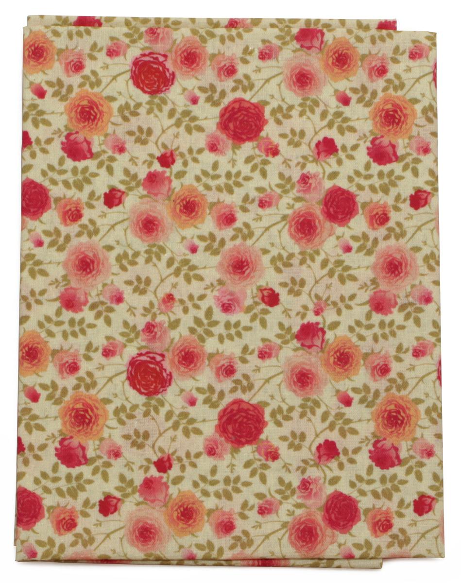 Ткань Кустарь Французский шеби шик №2, 48 х 50 см. AM562002NLED-454-9W-BKТкань Кустарь - это высококачественная ткань из 100% хлопка, которая отлично подходит для пошива покрывал, сумок, панно, одежды, кукол. Также подходит для рукоделия в стиле скрапбукинг и пэчворк.Плотность ткани: 120 г/м2. Размер: 48 х 50 см.