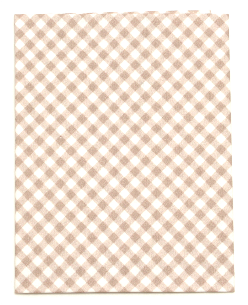 Ткань Артмикс Клетка №38, цвет: белый, бежевый, 48 х 50 см. AM605038C0038550Артмикс Клетка №38 - это высококачественная ткань, изготовленная из 100% хлопка, которая отлично подходит для пошива покрывал, сумок, панно, одежды, кукол. Также подходит для рукоделия в стиле скрапбукинг и пэчворк.Плотность ткани:120 г/м2. Размер: 48 х 50 см.