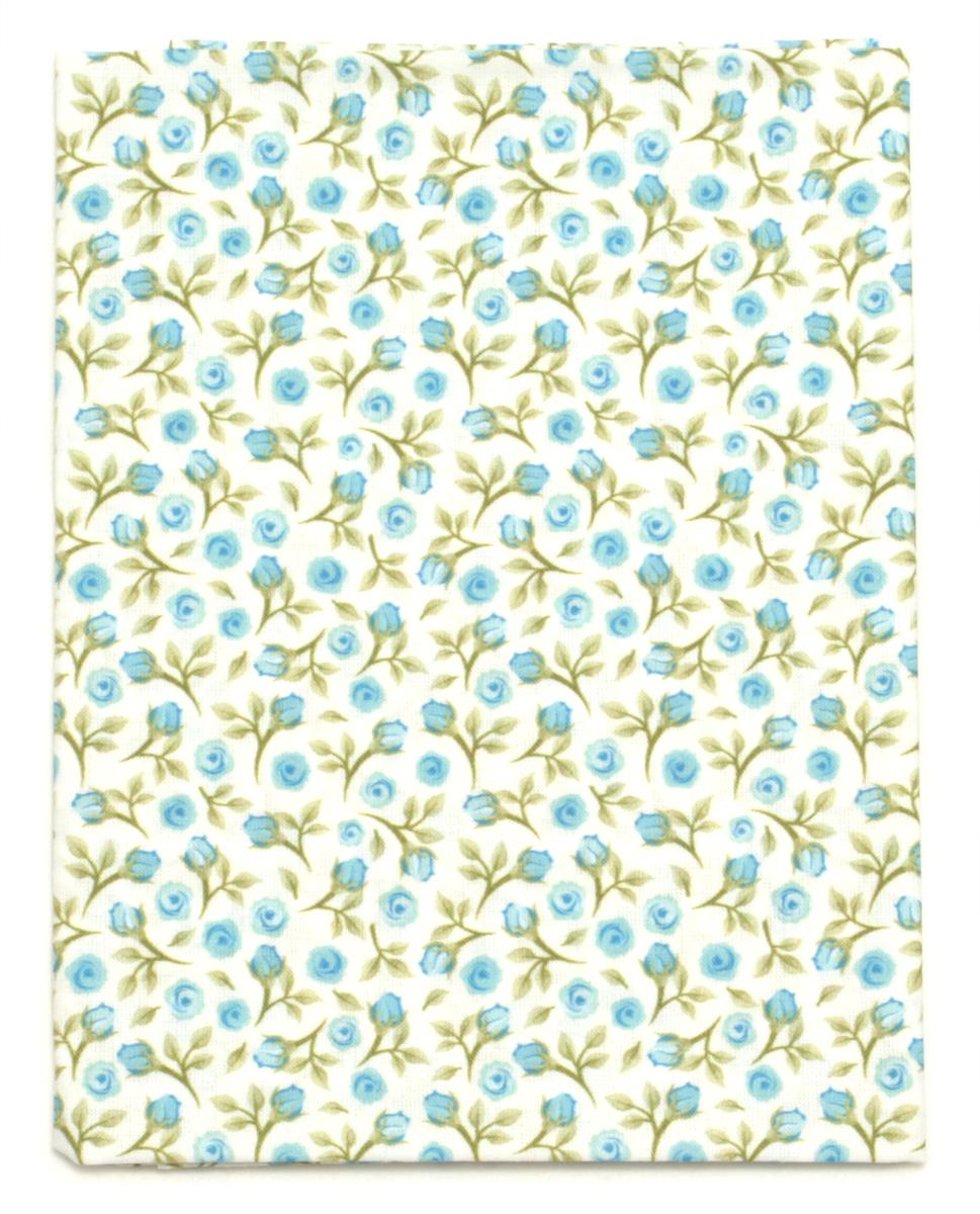 Ткань Кустарь Акварельные розочки №2, 48 х 50 см. AM572002K100Ткань Кустарь - это высококачественная ткань из 100% хлопка, которая отлично подходит для пошива покрывал, сумок, панно, одежды, кукол. Также подходит для рукоделия в стиле скрапбукинг и пэчворк.Плотность ткани:120 г/м2. Размер: 48 х 50 см.