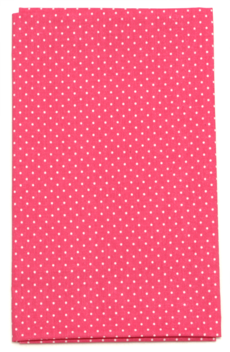 Ткань Кустарь Мелкий горошек, цвет: брусничный, 48 х 50 см. AM555024S03201004Ткань Кустарь - это высококачественная ткань из 100% хлопка, которая отлично подходит для пошива покрывал, сумок, панно, одежды, кукол. Также подходит для рукоделия в стиле скрапбукинг и пэчворк.Плотность ткани:120 г/м2. Размер: 48 х 50 см.